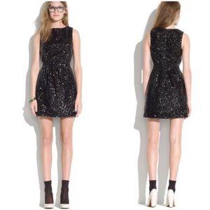 Madewell Sequin Lightbox Dress